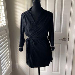 Belabumbum Black 100% Cotton Robe S/M